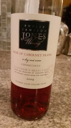 Jones Winery Shelton CT Rose Cab Franc