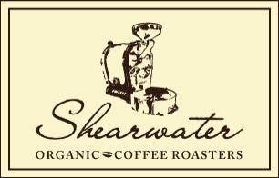 Shearwater organic coffee roasters