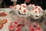Cupcake display Chocolate, Dessert & Wine Lovers Evening