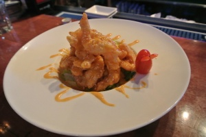 Shrimp at Hana Tokyo in Fairfield, CT