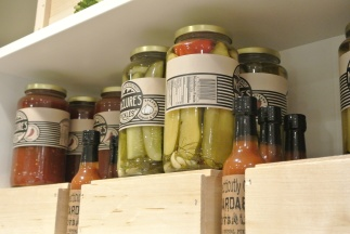 McClure Pickles and Stamford's Hoardable Hot Sauce at Greenwich Cheese Company