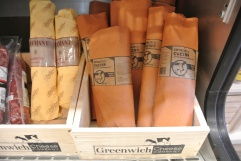Plenty of artisan meats available at Greenwich Cheese Company