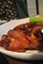 Honey Gold BBQ wings at J. Timothy's in Plainville, CT