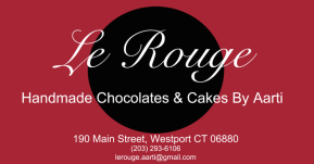 Le Rouge Cafe Aarti Logo