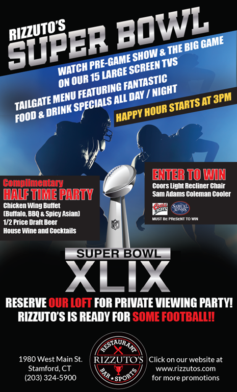 Rizzuto's Super Bowl Party