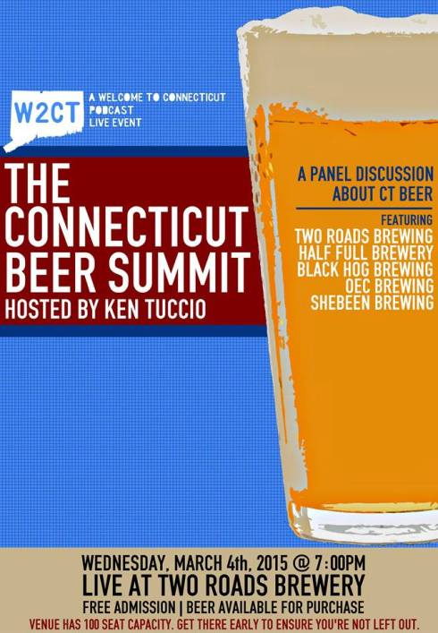 The Connecticut Beer Summit at Two Roads 2015