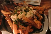 Poutine at Walrus & Carpenter in Black Rock, CT