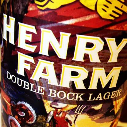 Henry's Farm Double Bock dopplebock lager Two Roads