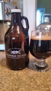 Thimble Island Vanilla Coffee Stout