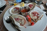 Oyster plate at Washington Prime
