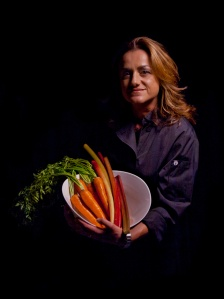 Chef Silvia Baldini, picture from a recent press release