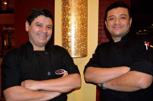 Executive Chef and owner David Soto and Sous Chef Erick Omar Soto