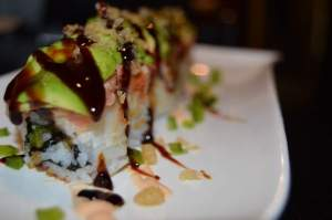 Jalapeño Sushi Roll at Aji 10, photo from their FB page.