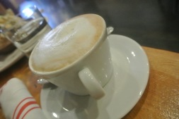 Cappuccino at Amore Cucina & Bar in Stamford