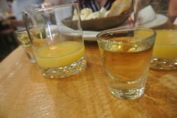 Breakfast shot at Amore Cucina & Bar in Stamford
