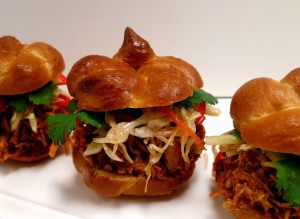 pulled chx sammies