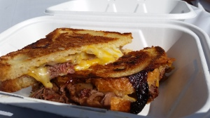 Grilled Cheese from Melt Mobile at Ninety9 Bottles Craft Beer Fest 2014