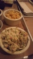 Loaded potato salad and mac & cheese at Hoodoo Brown BBQ in Ridgefield, CT