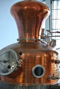 The good stuff goes in here at Neversink Spirits in Port Chester, NY