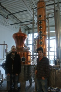 Noah and Yoni from Neversink Spirits in Port Chester, NY