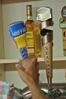 Half Full on tap at The Beer Garden at Shippan Landing