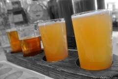 Beer'd Brewing Flight at Coalhouse Pizza in Stamford