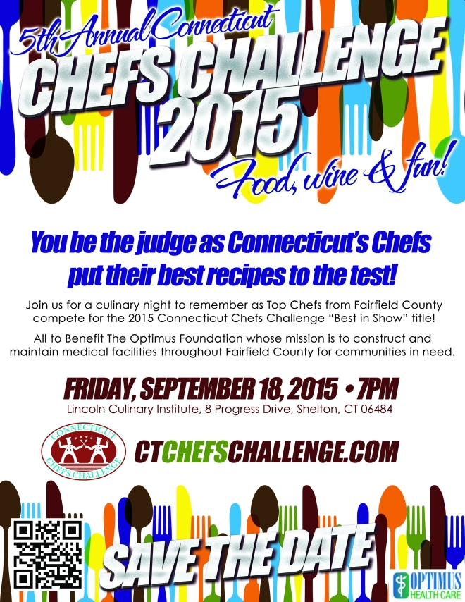 2015 CT Chefs Challenge Competitors and Judges Announced
