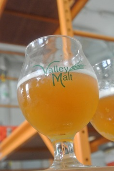 Field Beer with Spent Grain from Kent Falls Brewing