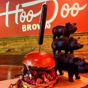 Hogzilla at Hoodoo Brown BBQ in Ridgefield, pic from their FB page