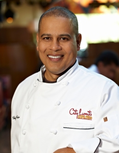 Chef Peter from City Limits,  photo by Paul Johnson