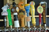 Sip of Sunshine and Founders All Day IPA on tap at The Beer Garden @ Shippan Landing