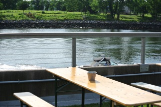 Killer Views at The Beer Garden @ Shippan Landing