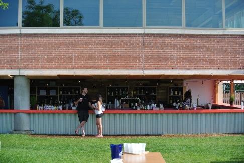 The Bar at The Beer Garden @ Shippan Landing
