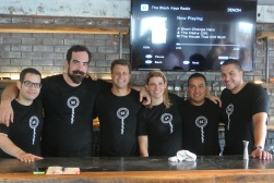 The Crew at South End Uncorked