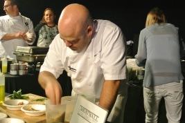Chef Matt Storch of Match in SoNo prepares his famous meatballs