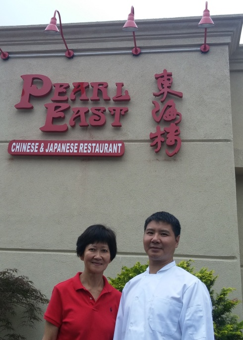 (From left) Ivy Bacher and Chef Ye will host the Grand Reopening of Pearl East on Thursday, August 13 at 5:30, 323 Hope Street, Stamford. There will be a ribbon-cutting ceremony and celebration. For details, visit www.pearleastct.com or call (203) 973-0072.