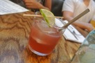 Rhum Punch at Back 40 Kitchen in Greenwich CT