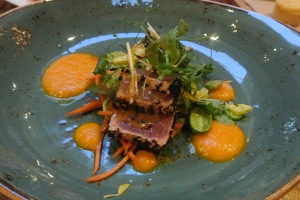 Seared Tuna  at Back 40 Kitchen in Greenwich CT