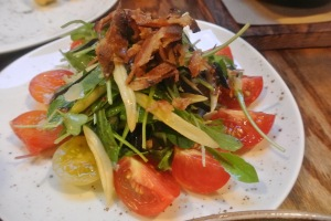 Heirloom Tomato Salad at Back 40 Kitchen in Greenwich CT