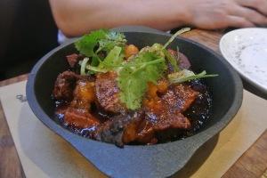 BBQ Pork Shoulder  at Back 40 Kitchen in Greenwich CT