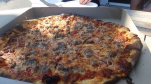 Zuppardi pizza with sausage and peppers