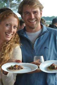 Two hungry taconites at Greenwich Wine + Food Festival 2015