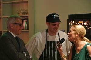 Geoffrey Zakarian and Kathie Lee interview J House Chef, Conor Horton