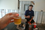 Peter Cowles talks about the beer at Aspetuck Brew Lab and we drink