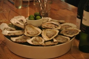 Oysters from The Whelk