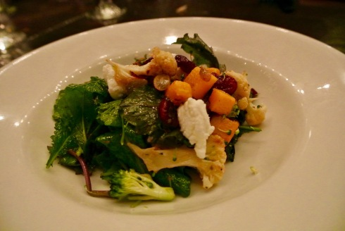 Autumn salad at The Chelsea in Fairfield