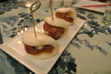 Spicy Beef Bao at WUJI in Greenwich, CT