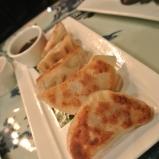 Pork Dumplings at WUJI in Greenwich, CT