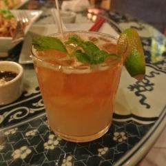 Mai Tai cocktail at WUJI in Greenwich, CT